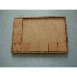Movement tray 125 x 100 mm