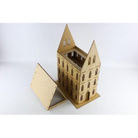 Gotycki Budynek II (spadzisty dach)