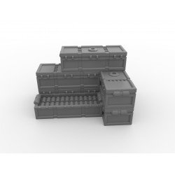 Skrzynki amunicyjne 16 sztuk
