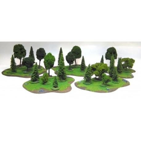 Zestaw lasów TS008