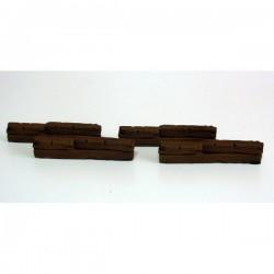 Drewniane barykady