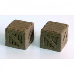 Drewniane skrzynie III duże (2) SC019